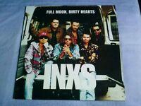 INXS: FULL MOON, DIRTY HEARTS VINYL ALBUM