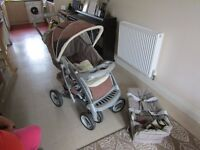 Pram Graco Suitable for birth to 99. Clean and tidy condition.