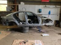 BMW E46 Saloon Breaking Car CHASSIS FLITCH SHELL 318i 318d 320i 320d 325i 330i 330d