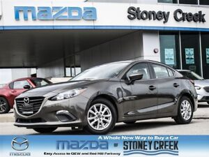 2015 Mazda MAZDA3 GS AUTO, NEW R/BRAKES, BT, LOW KMS, B/UP CAM!