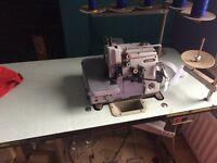 Brother - Industrial 5 thread overlock machine