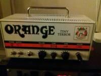 Orange Tiny Terror valve amp
