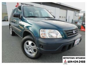 1997 Honda CR-V LX 4x4; Local BC vehicle!