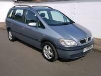 Vauxhall zafira design dti 16v 7 seater diesel full years mot