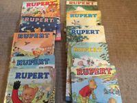 10 Vintage Rupert Annuals