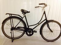 Super Claasic Dutch Oma Fiets Serviced excellent for commuting
