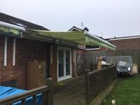 2 Electric Garden Awning Canopy by Thomas Sanderson