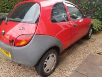 Ford KA 2001 - Excellent Condition, Great Runner CAR NEEDS TO GO ASAP