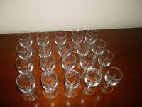20 Sherry Glasses
