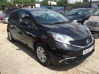 Nissan Note 1.2 Acenta 5dr FREE 1 YEAR WARRANTY, NEW MOT, FINANCE AVAILABLE, P/X WELCOME