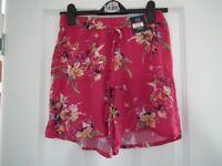 Brand new ladies M&S shorts - size 8