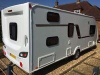 SWIFT Challenger Sport 586, 2012 Model, 6 Berth Caravan, ideal for Families