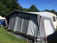 Avondale Rialto 530-5 caravan (1999) and full length awning (4 months old)