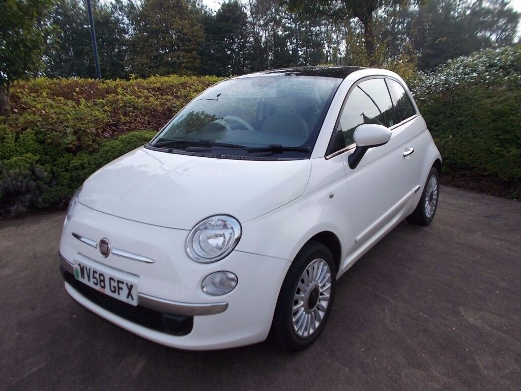 Fiat 500 1.2 lounge top of the range