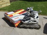 Roces inline skates, 84mm wheels.