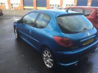 2004 Peugeot 206 1.6 gti hdi 12 months mot/3 months warranty (Free mot next year)