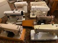 15 sewing machines spares or repairs