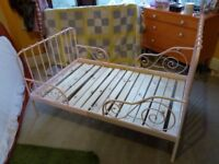 IKEA MINNEN extendable bed frame in excellent condition