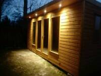 New fully insulated garden cabin, summer house, office
