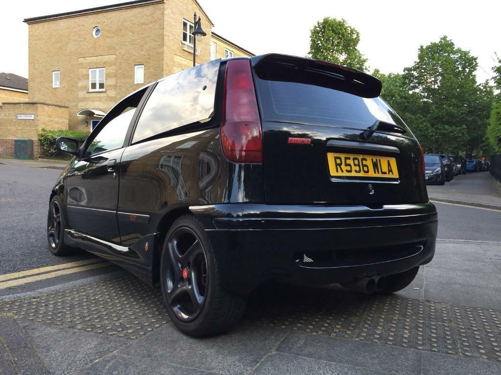Fiat Punto Gt Abarth 2 0 16v Turbo Over 200bhp In