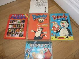 Abba Collectable Christmas Annual Weymouth Free Local Delivery