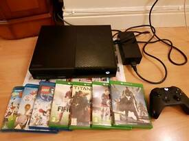 Xbox ONE console complete with 7 games & blue ray movies - Bargain £165