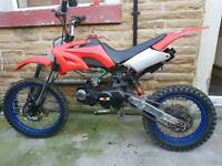 125cc Akuma Assassin Pitbike **NO SWAPS** (not stomp/thumpster/demonx)