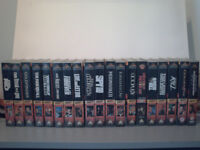 James Bond Video Collection - each video probably only viewed 2 or 3 times.