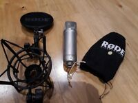 Rode NT1a Condensed Mic with Full Accessory and Original Box