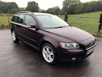 TOP SPEC 56-REG VOLVO V50 2.0D 6 SPEED MANUAL,MOT AUGUST 2017TH,07872346777