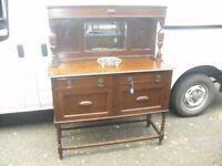 Wonderful Oak 1920's Barley Twist Sideboard