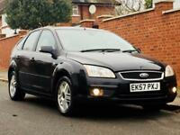 FORD FOCUS 1.6 AUTO GHIA 2007 57reg LOW MILEAGE MOT NO TIMEWASTERS BE WUICK £975