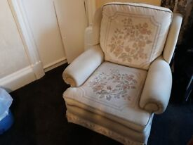 Large soft single chair.