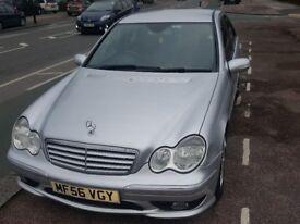 2006 Mercedes-Benz C class 2.1 C200 CDI Sports edition, 2148cc, Automatic, Diesel, 122,422 miles.