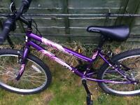 Girls bike. Good condition. Tyres like new