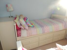 Single Bed with Under Bed and Storage