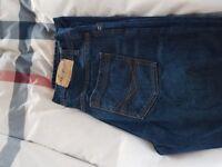 Mens jeans size 34L