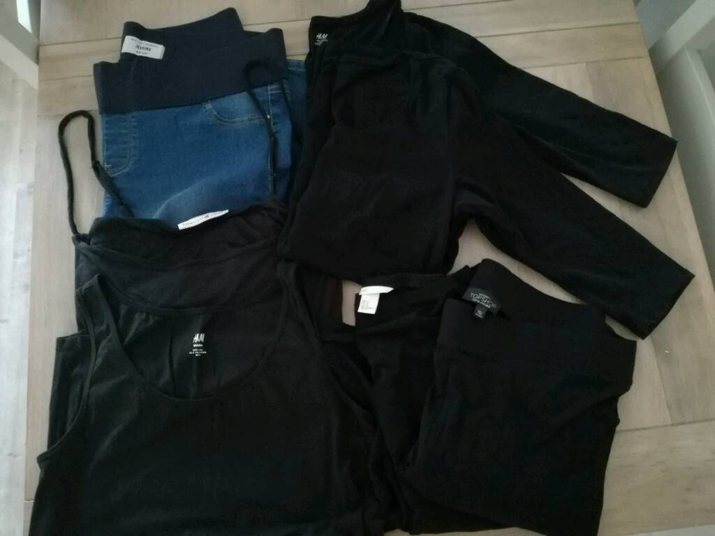 MATERNITY CLOTHES BUNDLE 14 16in Kendal, CumbriaGumtree - Bundle of maternity clothes size 14 16, some never been worn. 9 items including dress, Breast Vest, New Look jeans, Topshop and H&M leggings, 3/4 sleeve tops and cape. Collection Kendal