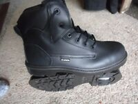 Steel toe cap safety work boots sizes 8 , 9 and 11 all new £25 a pair