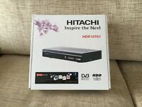 Hitachi HDR10T01 Digital Set Top Box New. Freeview+HD.