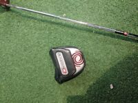 Odyssey works #7 tour red putter
