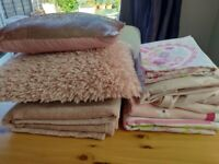 Girl's bedroom linens