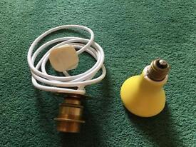 Ceramic heat bulb and fitting