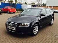 2008 Audi A3 Sportsback special edition,5dr,1.6,F.S.History,long mot