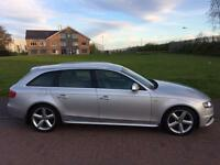 2008 AUDI A4 2.0 TDI S/LINE / MAY PX OR SWAP