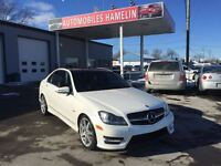 2012 Mercedes-Benz C-Class C350 4MATIC AMG PACKAGE GPS TOIT PANO