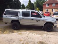 TOYOTA 4X4 HILUX PICK UP 2003 IN SILVER