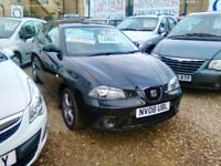 3 door 2008 seat ibiza 1.9 diesel sport door hatch back 104.000 miles very tidy car inside and out
