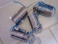 Dunelm Ashton range of LINED curtain rings.........BRAND NEW.....HALF PRICE !