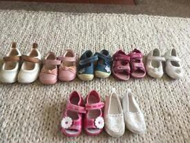 Girls shoes infant 4, 5, 5.5 and 6